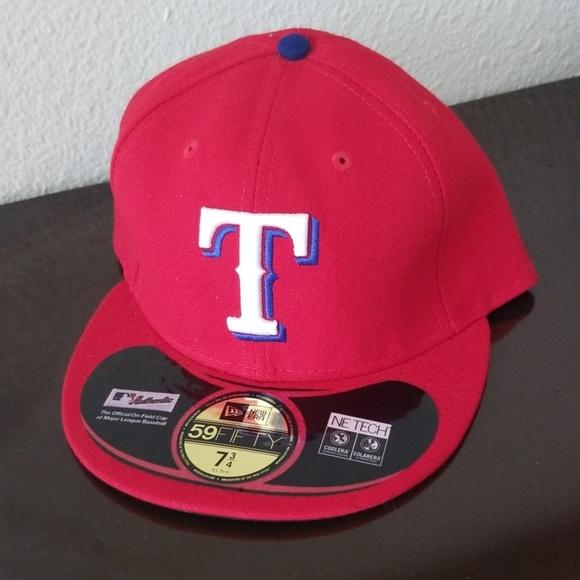 sale retailer 094a1 230d9 Texas Rangers New Era Hat